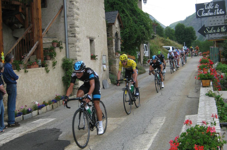 Le Tour de France à Clavans
