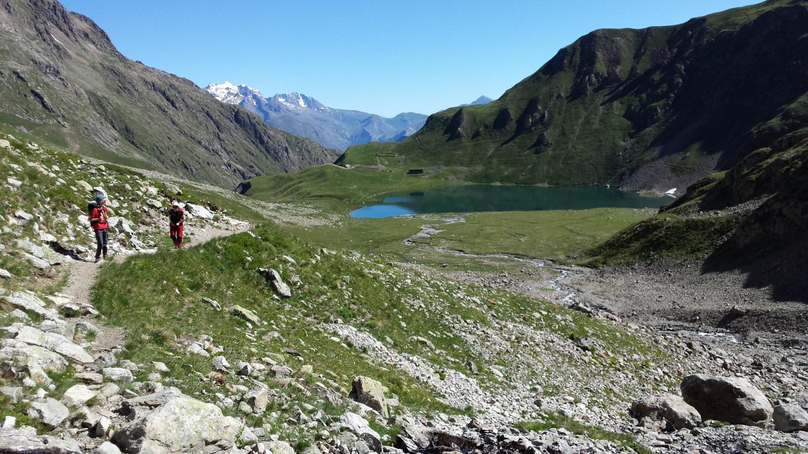 Lac de la Muzelle (2099 m)
