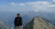 Vue de la Tête de la Muraillette (3019 m)